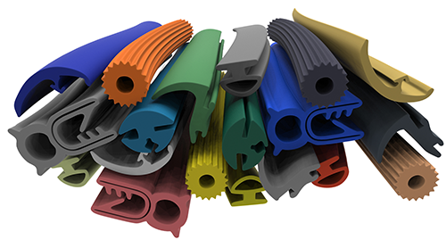 Rubber Extrusion Allows for Customization in Color and Texture