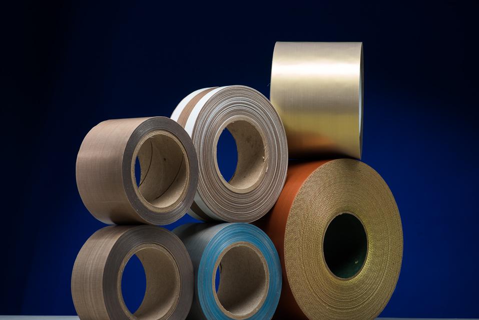 PTFE Coated Fiberglass Tapes | PTFE Tape - Precision Fabric