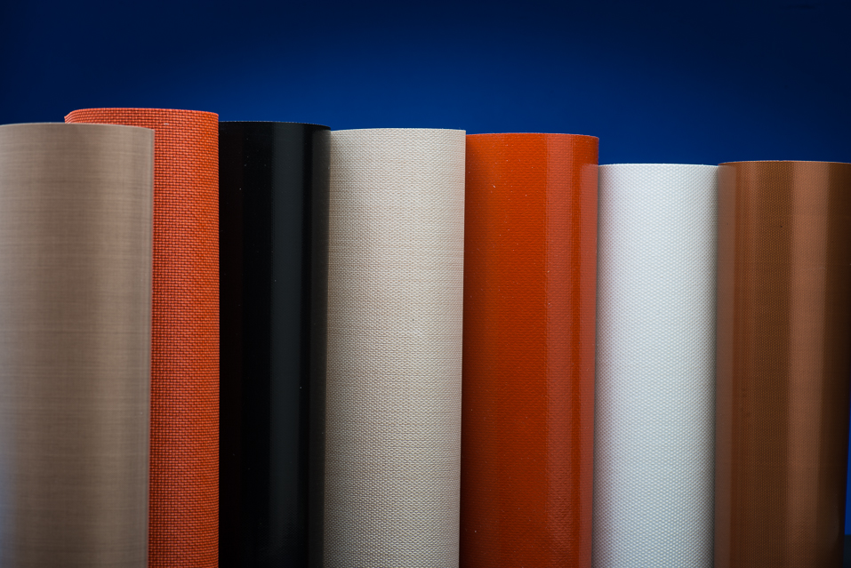 Silicone Coated Fiberglass Fabrics Precision Fabric