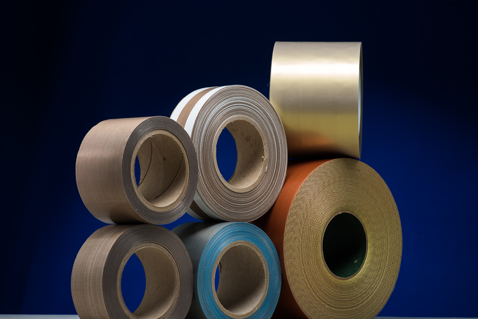 PTFE coated tapes & PTFE film tapes